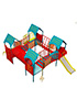 Детский игровой комплекс СКИ 085 ДК 3
