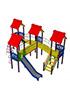 Детский игровой комплекс СКИ 104 ДК 22