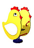 Качалка на пружине для детей СКИ 029 Цыпленок