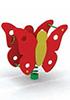 Качалка на пружине для детей СКИ 031 Бабочка