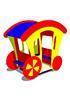 Игровой макет для детей Карета СКИ 060