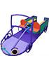 СКИ 124 Игровой макет Гонщик