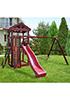 Деревянная детская площадка для дачи Панда nest