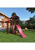 Деревянная детская площадка для дачи Панда picnic