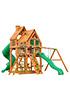 Деревянная детская площадка для дачи Великан 2 (Домик)