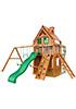 Деревянная детская площадка для дачи Клубный (Домик)