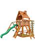 Деревянная детская площадка для дачи Навигатор (Дерево) с рукоходом