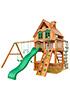Деревянная детская площадка для дачи Шато LUXE
