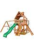 Деревянная детская площадка для дачи Шато (Дерево)
