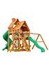 Деревянная детская площадка для дачи Великан 2 (Дерево)