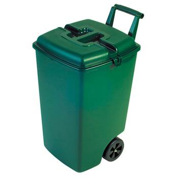Контейнер для мусора с высокой ручкой, 90 литров