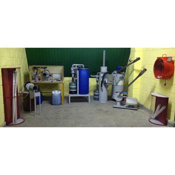 Установка для демеркуризации и переработки люминесцентных ртутных ламп Экотром-2