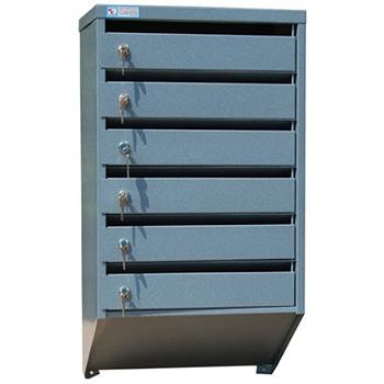 Ящик почтовый Меткон ЯПС-6 6 секций