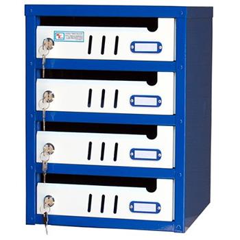Ящик почтовый Меткон ЯПС-3 4 секции