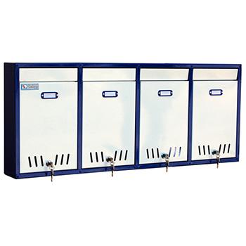Ящик почтовый Меткон ЯПС-4 4 секции