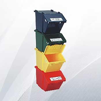 Контейнеры для сортировки мусора 45л
