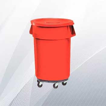 Офисная пластиковая урна для пищевых отходов 167л