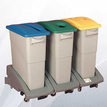 Пластиковый бак SLIM JIM для сбора мусора в офисе