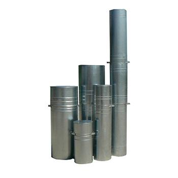 Вертикальный контейнер с крышкой для люминесцентных ртутных ламп КРЛ-ВГ 300x650
