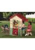 Детский домик для дачи С лазом