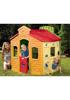 Детский игровой мульти-домик (магазин, заправка, школа)