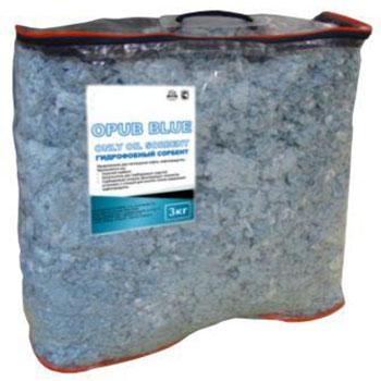 Сорбент нефтепродуктов постоянной плавучести OPUB BLUE