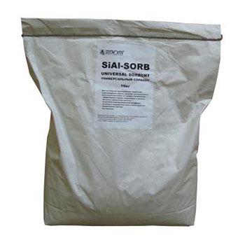 Универсальный сорбент для твердых поверхностей SiAl-Sorb