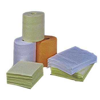 Химически стойкое сорбирующее полотенце, салфетки