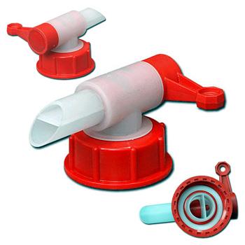 Кран для пластиковой бочки конусной (конической) емкостью 205л., БП205