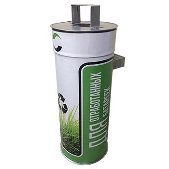 Контейнеры для сбора-хранения отработанных батареек (биг-батарейка)
