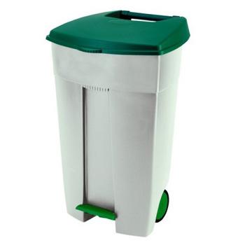 Контейнер для пищевых отходов С ПЕДАЛЬЮ 110 литров