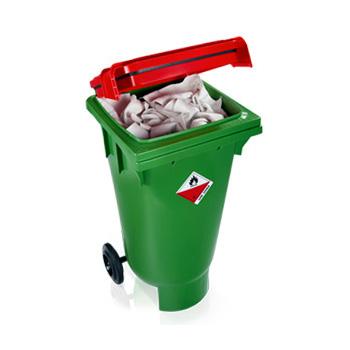 UN-BOXX - контейнер для твердых опасных отходов 120 л.