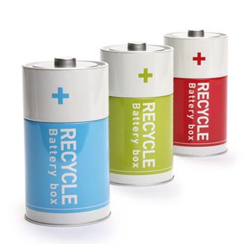 Контейнер для сбора батареек (батарейка)