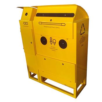 Контейнер для сбора батареек и ртутных ламп IKEA (ИКЕЯ)