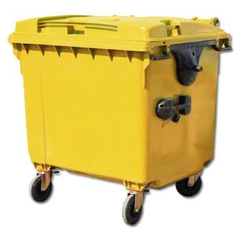 Контейнер для медицинских отходов 1100 литров внутрикорпусный
