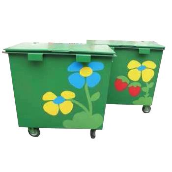 Эксклюзивный дизайн металлического контейнера (бак для мусора металлический)