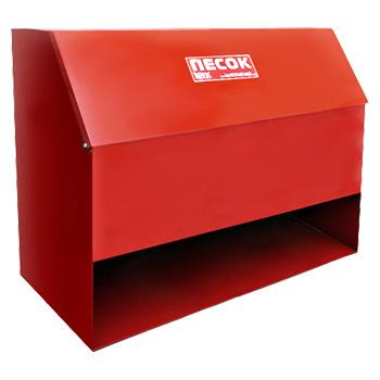 Ящик для песка металлический КДП3 0,3 м3 (с дозатором)