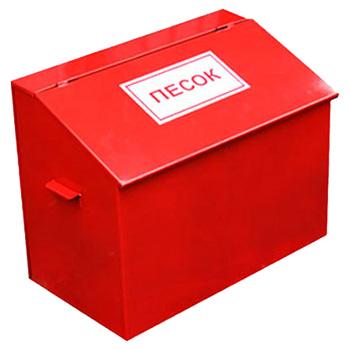 Ящик для песка металлический КДП1 0,1 м3