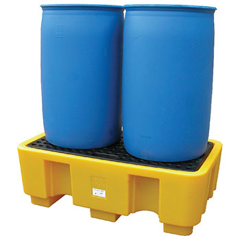 Поддон - контейнер на 2 бочки для ЛРТЖ, 250 л емкость