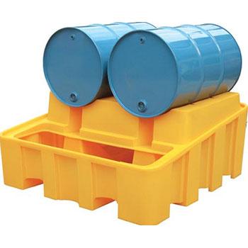 Контейнер (База) на 2 бочки, для модульной системы, емкость 450 л, нагрузка до 1000 кг