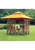Дачная деревянная беседка Derong KM-1108