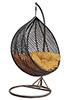 Плетеные качели из ротанга Derong KM-0002 средняя корзина