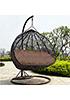 Плетеные качели из ротанга Derong KM-1016