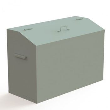 Ящик для ветоши КДВ3 0,3 м3 (БЕЗ КРЫШКИ)
