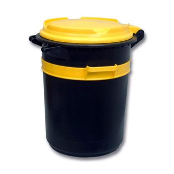Бак мусорный пластиковый для отходов 80 л., Бак-80