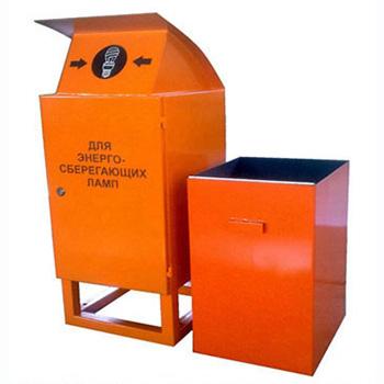 Контейнер для ртутьсодержащих люминесцентных ртутных ламп 1EL2 400x400x1000