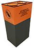 Контейнер для сбора батареек (крона)