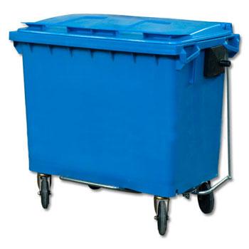 Педальный привод на контейнер 660 или 770 литров