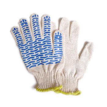 Перчатки с ПВХ напылением, 5-ти нитка, ВОЛНА-спектр