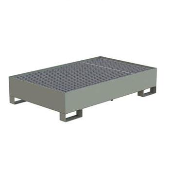 Поддон для хранения 2-х бочек ПДБ-02-01 1350x840